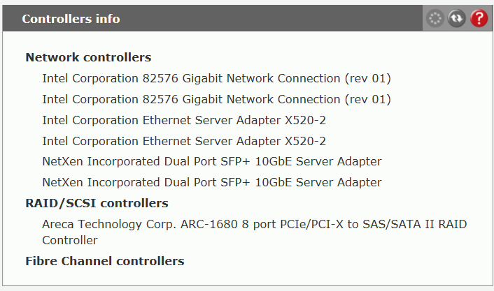 Intel 10GB Network card is not configurable - Open-E